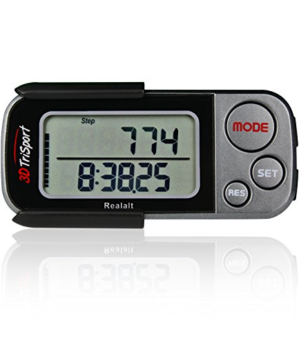 3DTriSport Supreme Quality Walking 3D Pedometers
