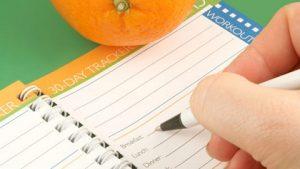 pedometer-diet-journal